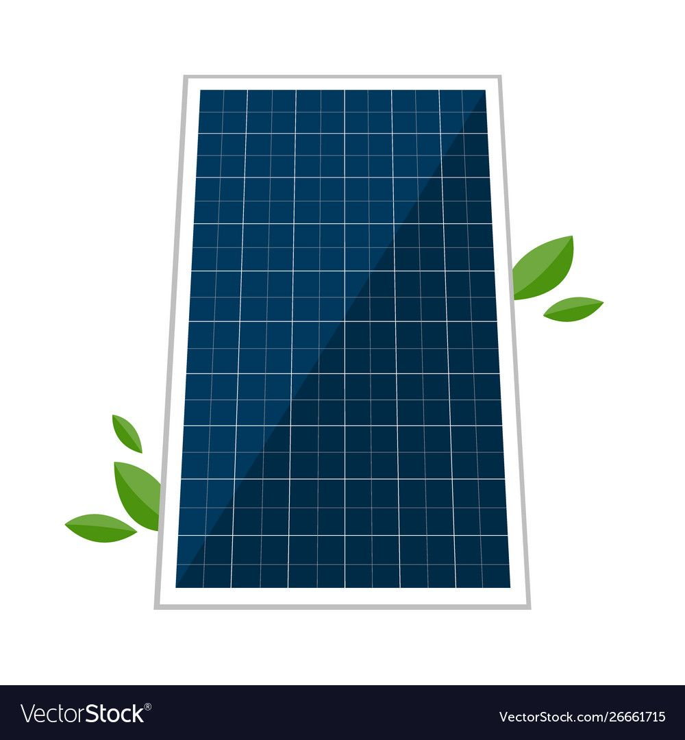 Solar Panel And Abstract Green Laves Royalty Free Vector Sponsored Abstract Green Graphic Design Portfolio Layout Vector Free Seamless Pattern Vector