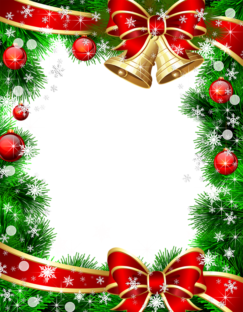 how to create a christmas frame for picture