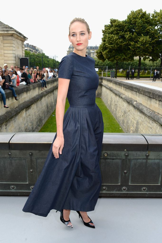 c0ca9dfe6022 Leelee Sobieski attends the Christian Dior show as part of Paris Fashion  Week Haute-Couture