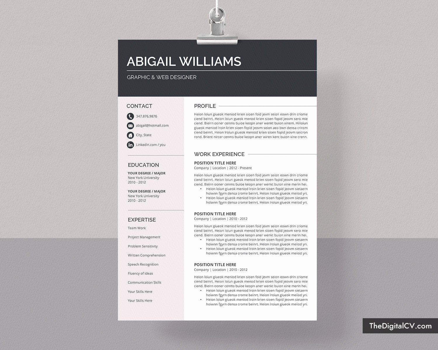 Pin By Holly Coulterson On Work Etiquette In 2020 Microsoft Word Resume Template Simple Resume Template Resume Template