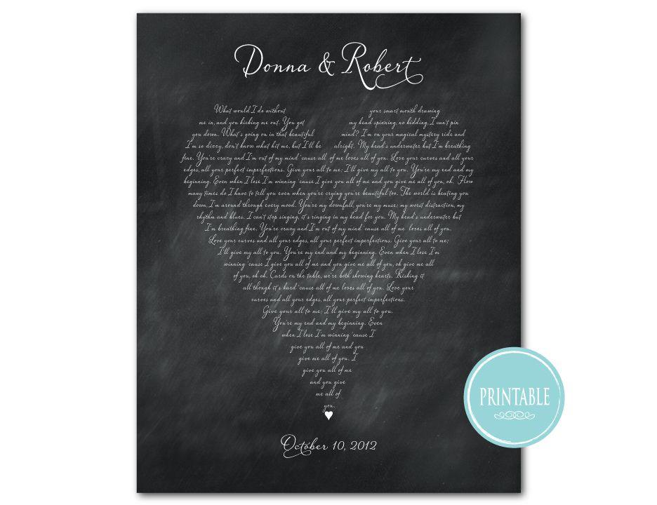 Printable wedding song art httpssusannewberrydesigns printable wedding song art httpssusannewberrydesignsprintables stopboris Images