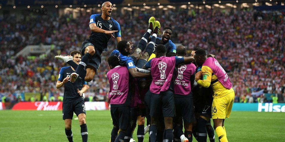 France Wins Fifa World Cup 2018 Vs Croatia 4 2 World Cup France World Cup 2018 Fifa World Cup