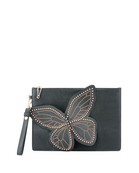 05a1fc41de SOPHIA WEBSTER Flossy Stud Butterfly Pochette
