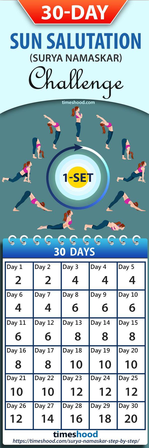 One Of The Best Morning Yoga Workout Sun Salutation Yoga Challenge For 30 Days Do Sun Salutation Yoga P Easy Yoga Workouts Morning Yoga Workouts Morning Yoga