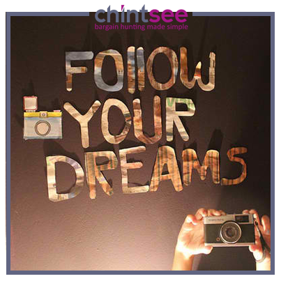 Follow your #dreams and #achieve with all your might