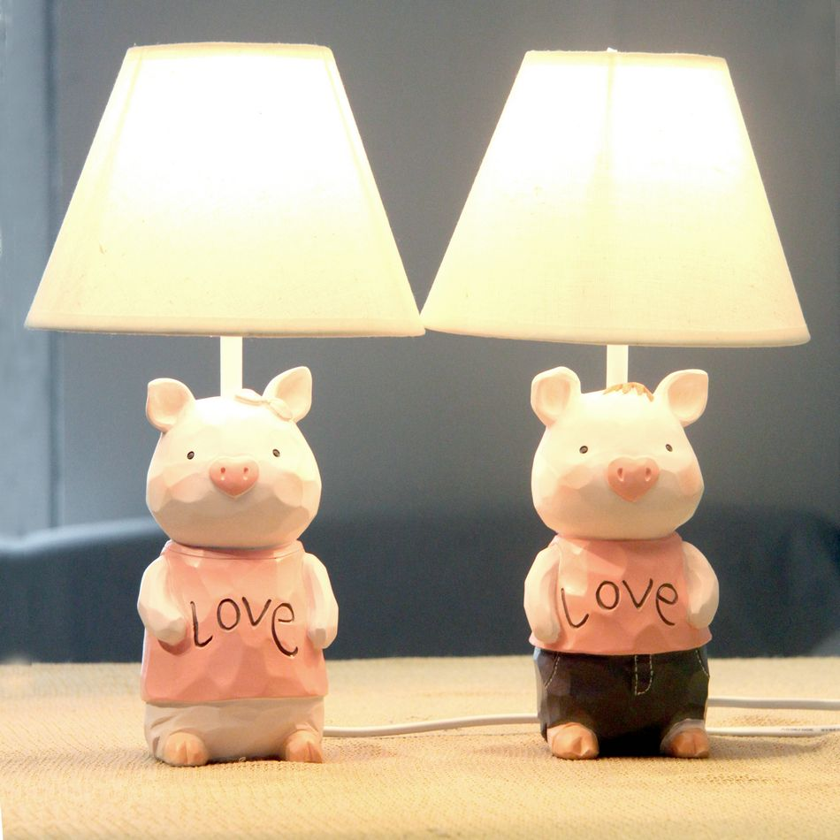 Cheap study lamp buy quality adjustable table lamp directly from pig lovers adjustable table lamp ofhead child real wedding gift table lamp geotapseo Gallery