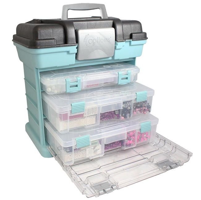 Medium Rack Craft Supply Storage System Giveaway - this would work great for my crimps, toggles, wire and tools