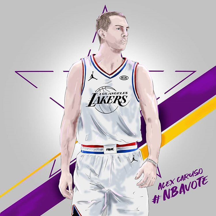 Instagram 上的 Dariusz Jankowicz Alex Caruso Nbavote Make It In 2020 Athletic Tank Tops Nba Basketball Art Nba Players