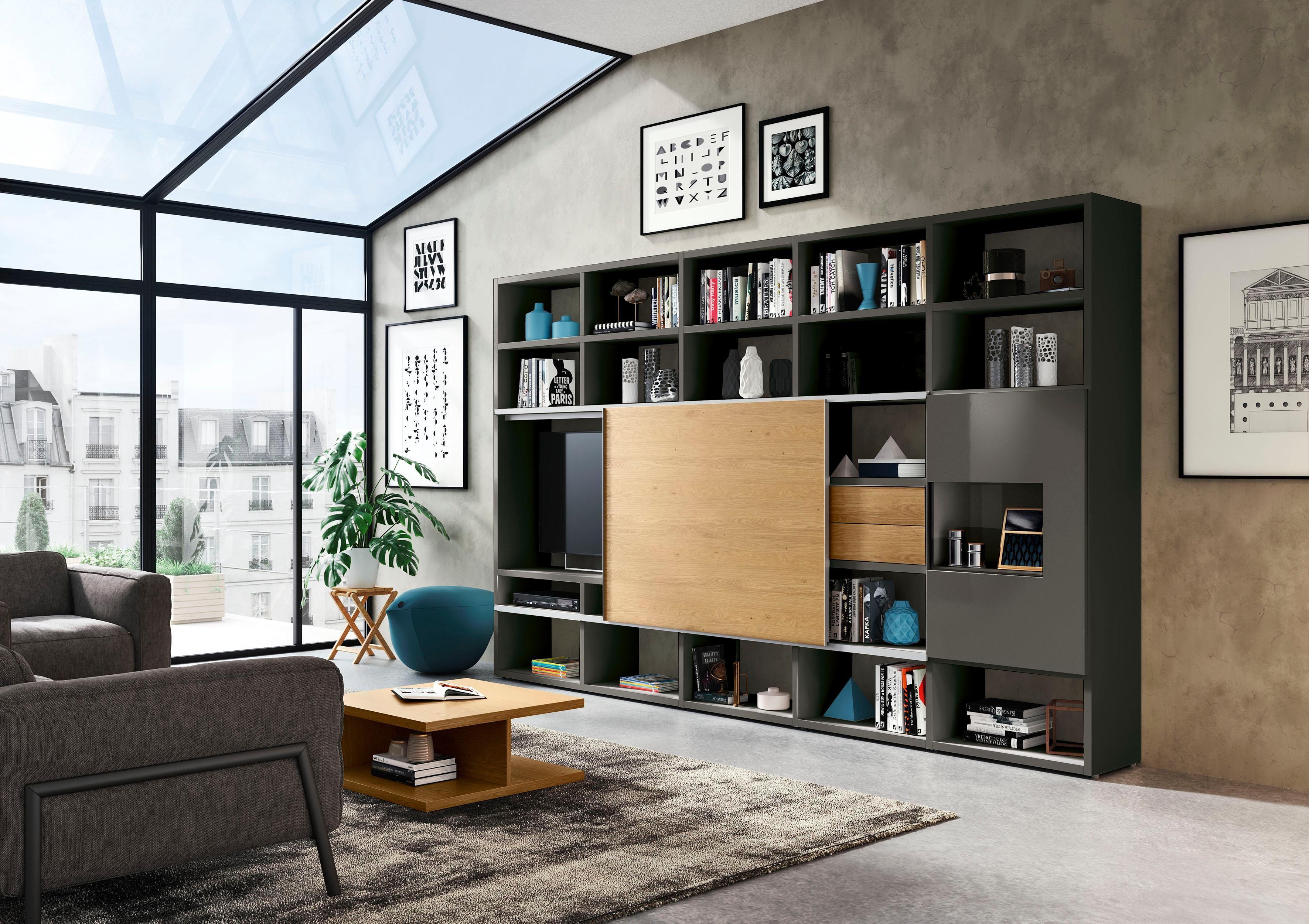 now by hülsta Wohnwand »now time« von BAUR   Home, Home decor ...