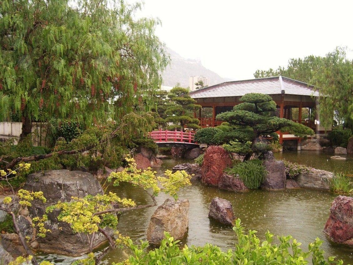 Jardin japonais de Monaco is a city park on Princess Grace Avenue ...