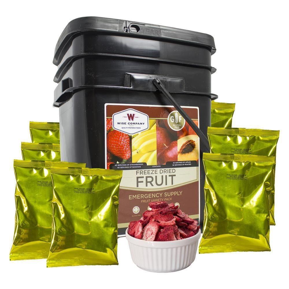 Emergency preparedness gluten free freeze dried fruit in