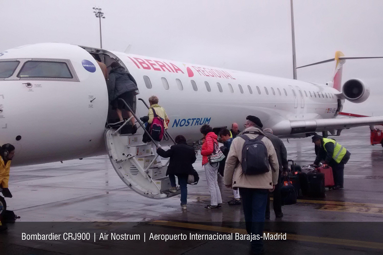 Bombardier CRJ900 | Air Nostrum | Aeropuerto Internacional Barajas-Madrid | Ruta MAD-TRN