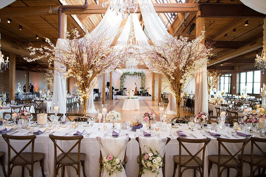 Epic Rustic Glam Wedding In Chicago Chicago Wedding Venues