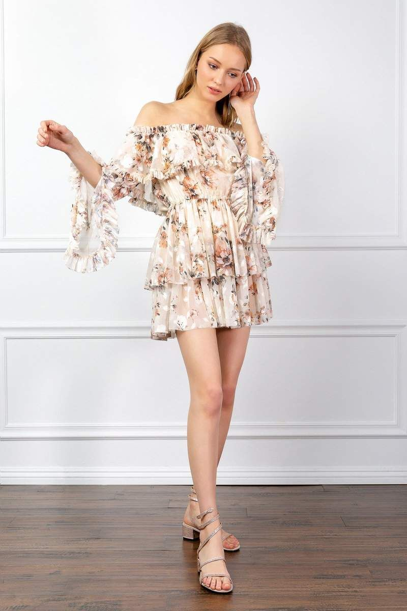 From Flirty And Feminine To Chic And Sophisticated Short Dresses From J Ing Have The Style And Flair You Desire Mini Dress Dresses Ruffle Dress [ 1200 x 800 Pixel ]