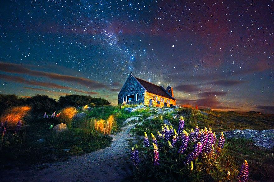 รวมบ านสวยๆ ใจกลางธรรมชาต แต ปล กว เวกโดดเด ยวในต างแดน สำหร บคนอ นด Dek D Com แก งเด ก Night Time Photography Landscape Photos Landscape Photography