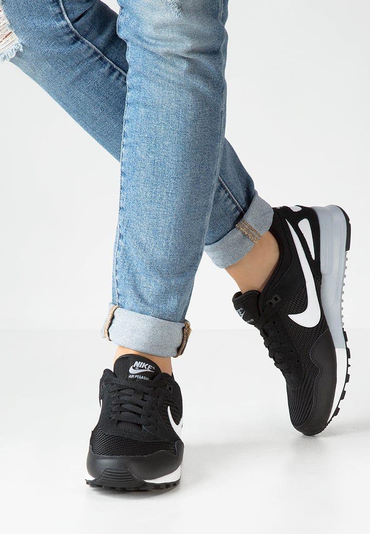 80f57980f3b Nike Sportswear AIR PEGASUS  89 - Baskets basses - black summit white wolf  grey…