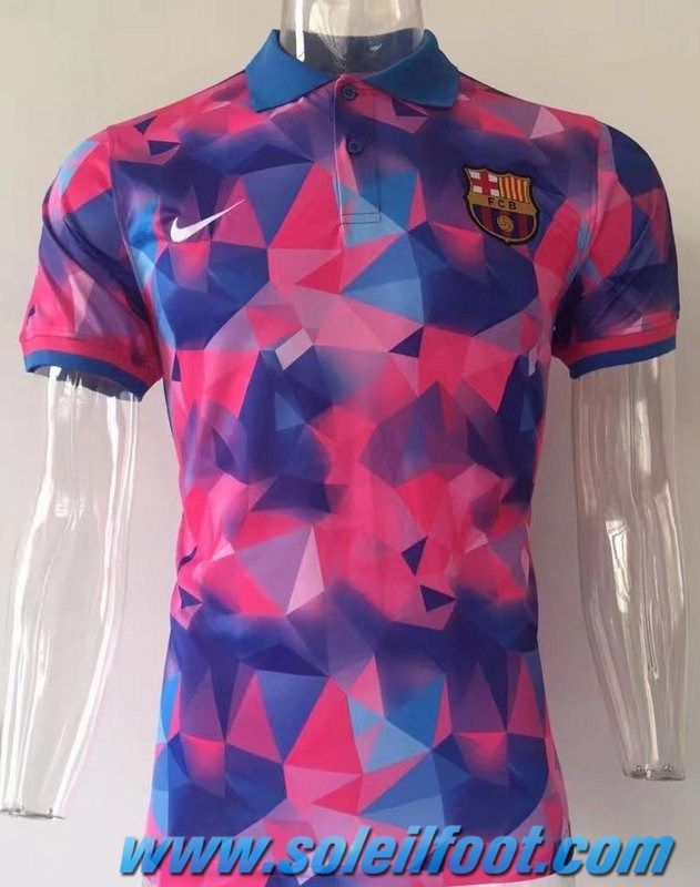 9b48a358cac17 Polo Thailande FC Barcelone Diamant Rose 2017-18 Replica