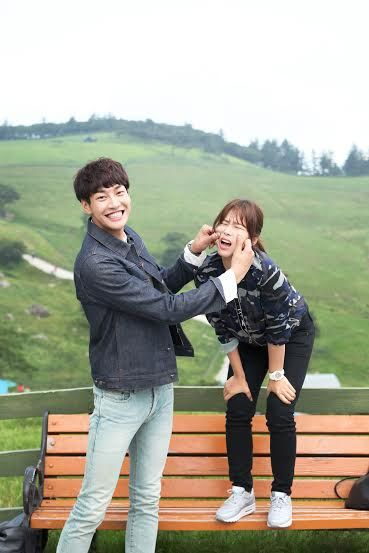 Plus Nine Boys Co Stars Kim Young Kwang And Kyung Soo Jin Display