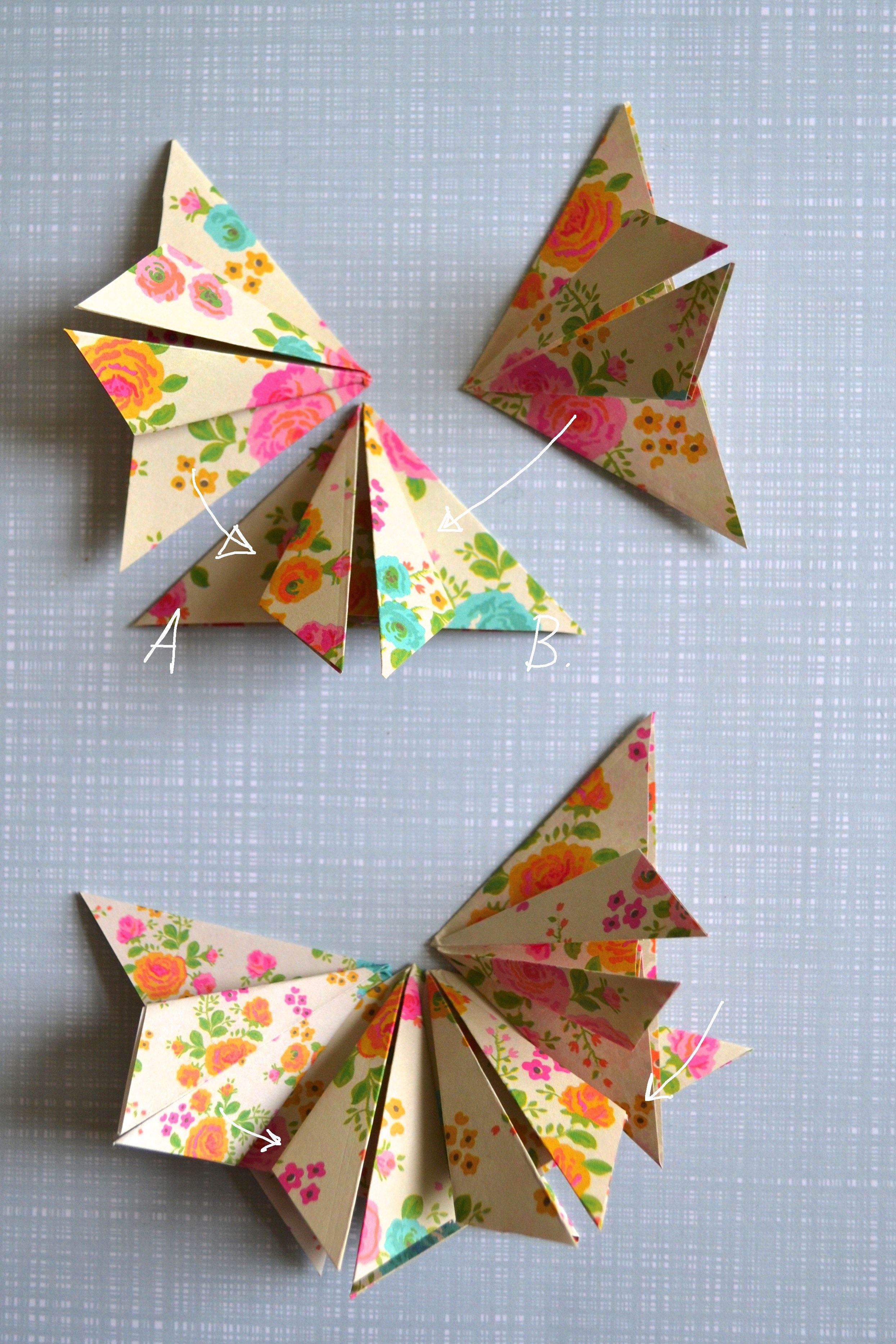 Papier Vouw Idee 1 Crafts Origami And Paper Folding Origami