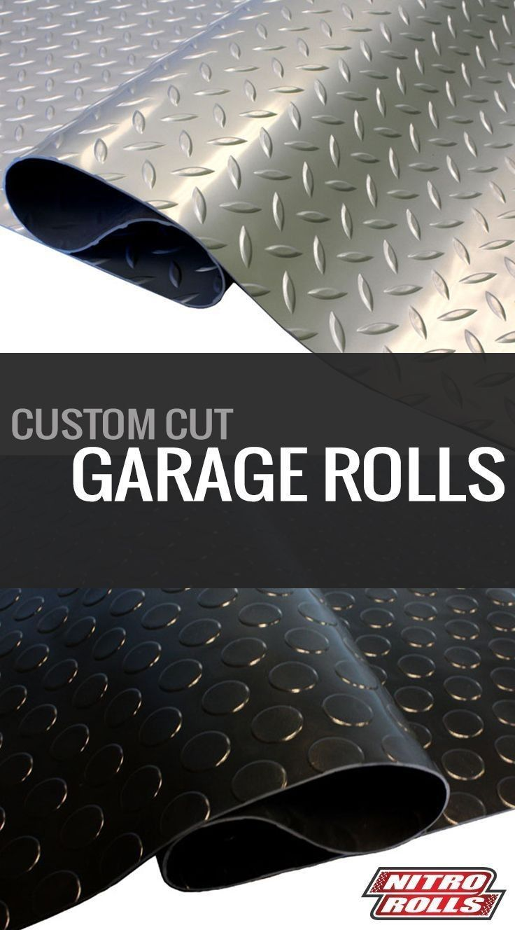 Diamond Nitro Rolls #mancavegarage Diamond Nitro Rolls Garage Flooring  I  Man cave idea  I  DIY flooring  I  Garage makeover #Ideas #DIY #White #Rustic #Modern #Decor #Black #Grey #mancavegarage
