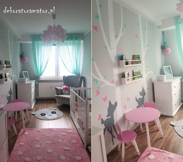 pok j dzieci cy pok j dla dziewczynki pok j dziecka kidsroom girlsroom pastelowy pok j. Black Bedroom Furniture Sets. Home Design Ideas
