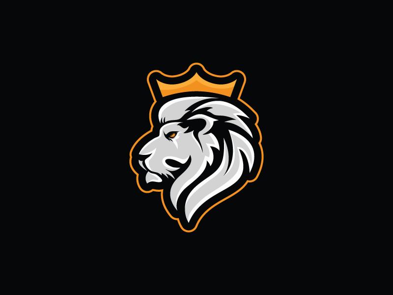 Lion Mascot Gym Logo Animal Logo Mascot