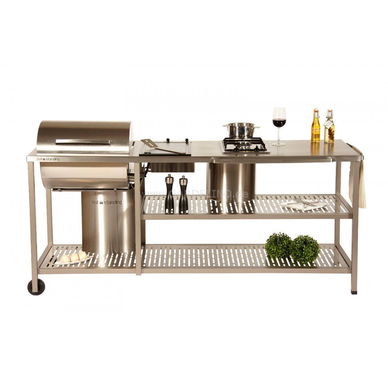 Outdoorküche OS Royal Basic Gasgrill // Outdoor kitchen OS Royal ...