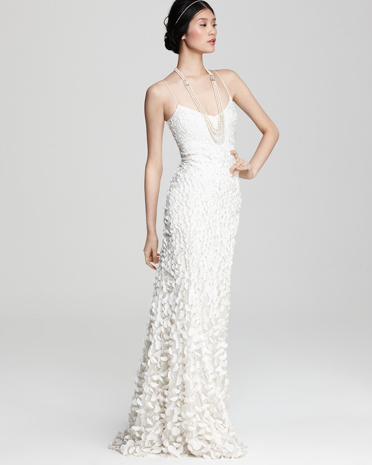 Theia Wedding Gown: Bloomingdale's. Gorgeous