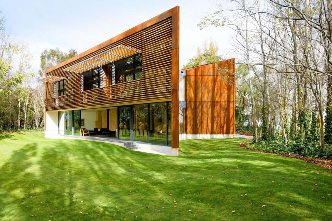 Beautiful House · Stunning Modern House In Forest ... Amazing Design