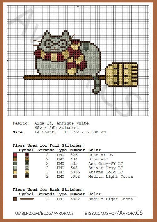 Ponto Cruz Cross Stitch Xstitch Harry Potter Cat Gato Harry Potter Cross Stitch Pattern Wedding Cross Stitch Patterns Cat Cross Stitch Pattern