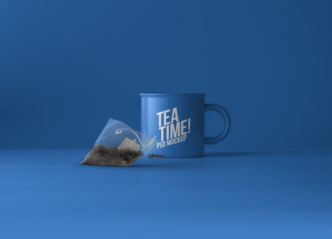 Download Tea Cup With Tea Bag Mockup Mockup World Bag Mockup Tea Bag Mockup
