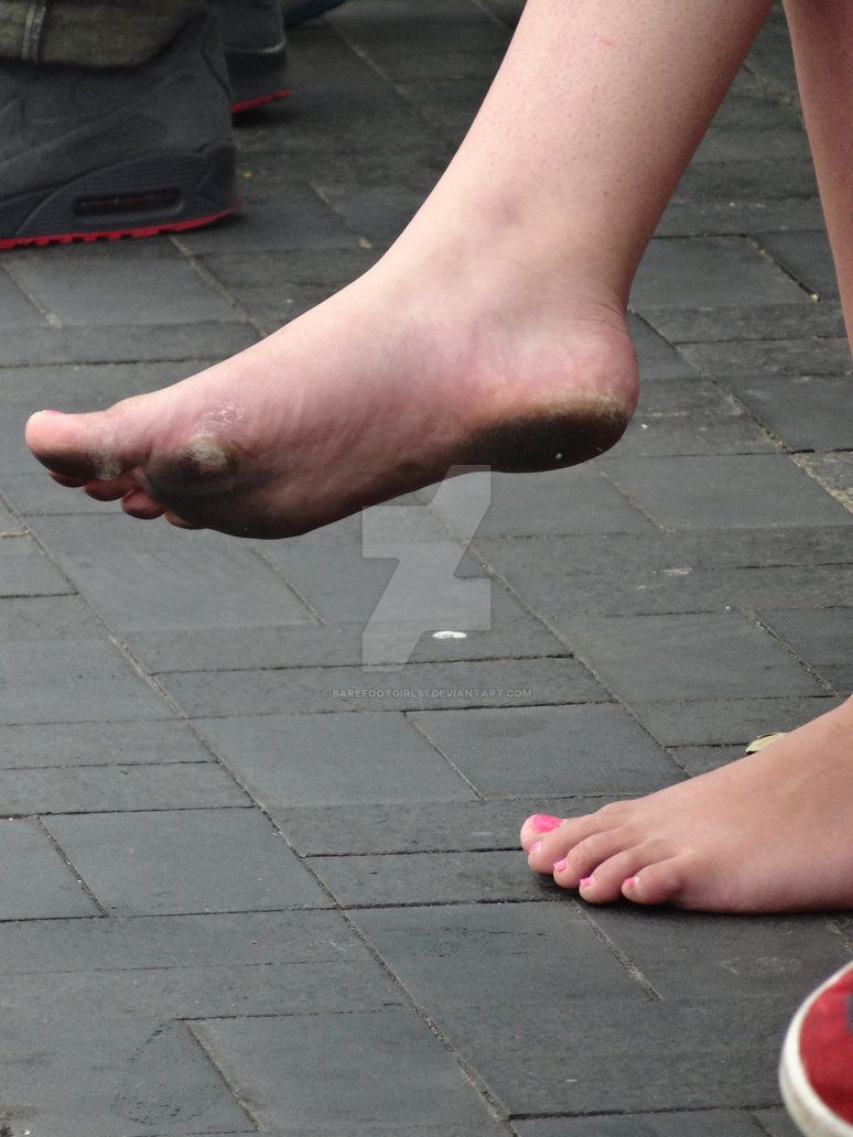 Barefoot street nz3 of 3 very dirty soles by barefootgirls1 barefoot street of 3 very dirty soles malvernweather Choice Image