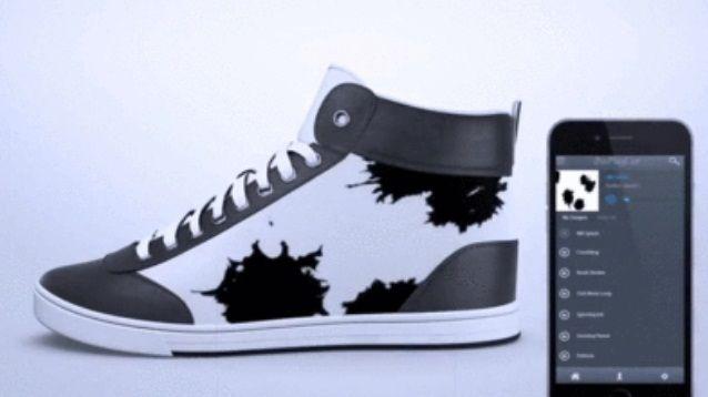 tecnoneo las zapatillas de deporte de tinta electrónica shiftwear