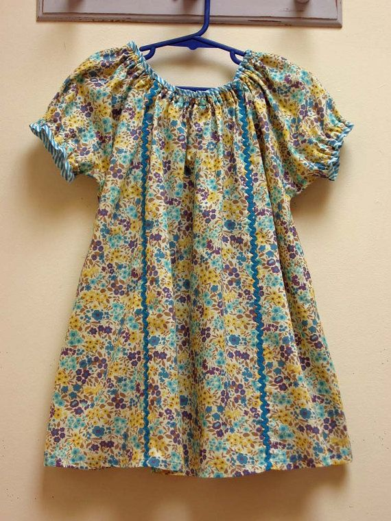 Sweet Pea Girl\'s PDF Dress Pattern by FelicityPatterns on Etsy ...