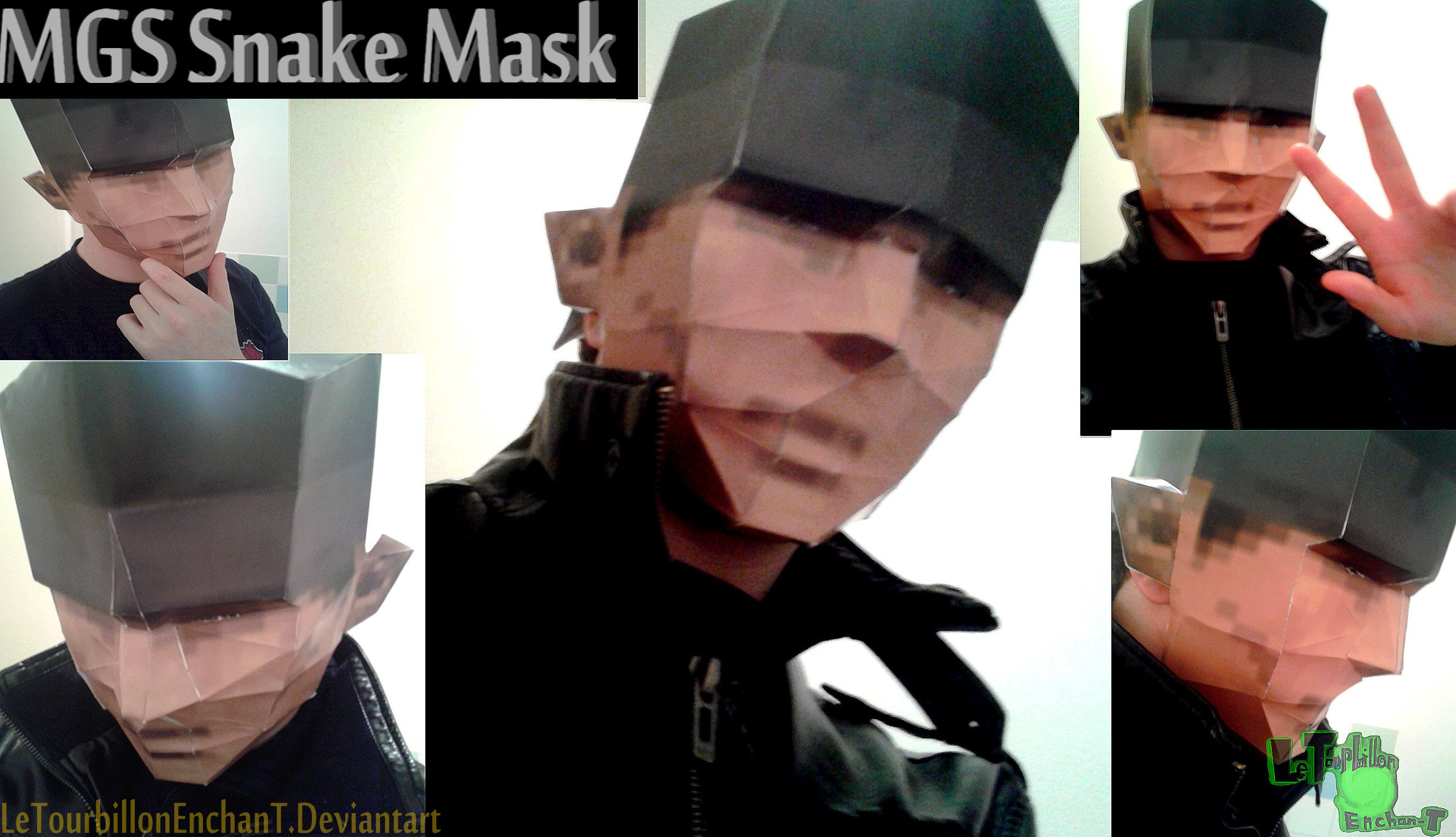 Metal Gear Solid - Snake Mask - LTE-T Papercraft by ...