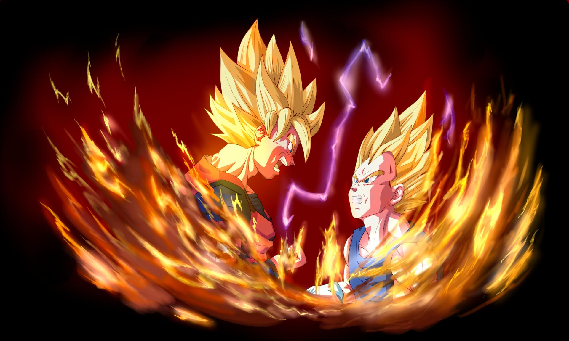 Black Goku Fondo De Pantalla And Fondo De Escritorio: Anime Dragon Ball Z Vegeta (Dragon Ball) Goku Fondo De