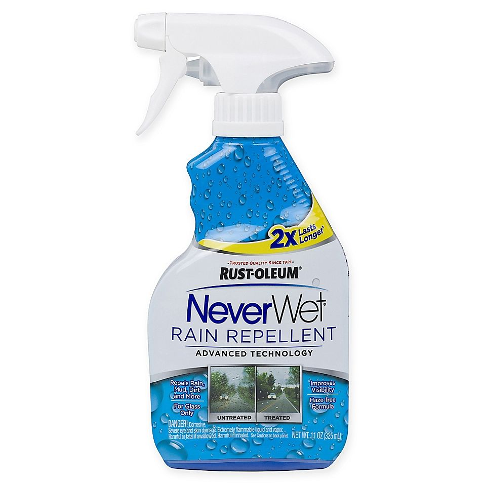 Rust Oleum Neverwet Rain Repellent Blue Rustoleum Repellent Spray