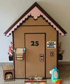 Cómo Hacer La Mejor Casita De Cartón Para Niños Paso A Paso Lodijoella Casas De Cajas De Cartón Casa De Cartón Casas De Cartón