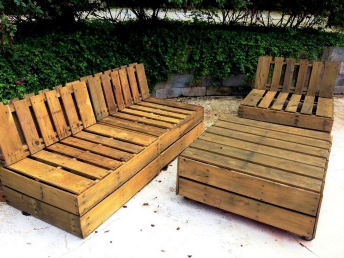 50 Easy Pallet Furniture Projects for Beginners   DIY i want to make ...