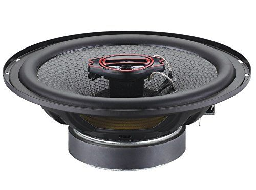 "DS18 GEN-650 6.5-Inch 2-Way Speaker 310 Watts - Set of 2. 6.5"" 2-Way Coaxial Speaker. Black Paper Cone with Rubber Edge. 1"" (25.5mm) ASV Voice Coil and 28mm Mylar Balanced Dome Tweeter. RMS Power: 95 Watts, Max Power: 310 Watts. Impedance: 4-Ohms, Sensitivity: 86dB. Frequency Response: 78-20KHz, Magnet Size: 80x40x15mm."