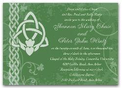 3044 irish wedding invitation ireland claddagh card i still love