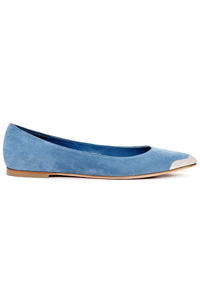 alexander mcqueen shoes 2014 prespring blue shoes
