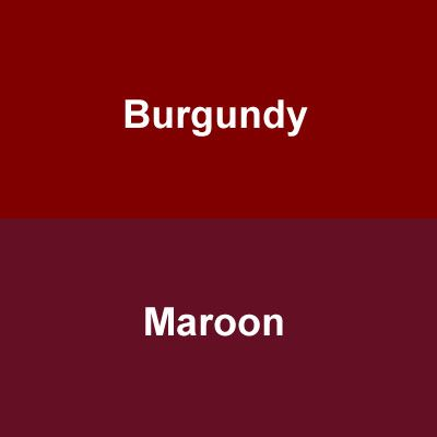 The Color Maroon The Color 400 400 Pixels