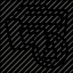 Document And Folder By Gatot Triardi Pramaji Folder Icon Document File Folder Icon
