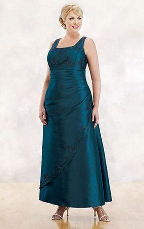 aafd7396c Vestidos Largos para Señoras Gorditas de Noche - Para Más Información  Ingresa en  http