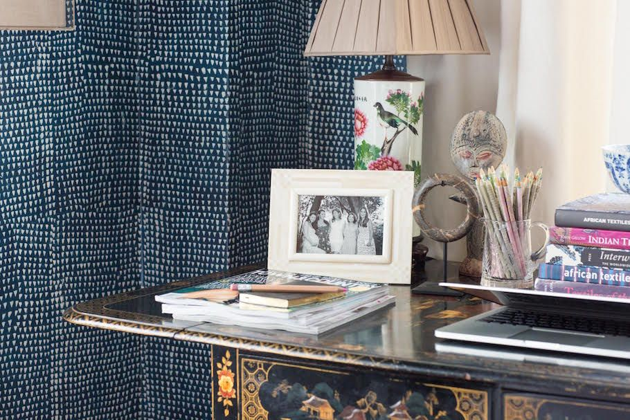 In the Bedroom: A Wallpaper Love Story | on the St. Frank blog