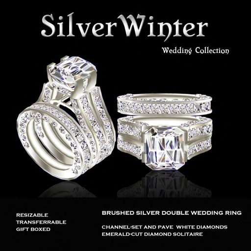 slovecabin crystal sterling silver rings wedding women item double for original female