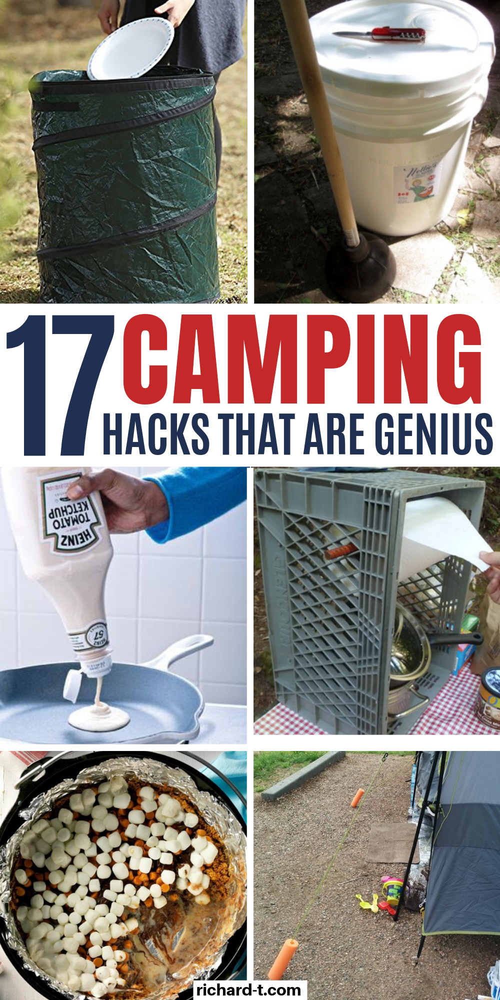 Check out these GENIUS camping hacks that every camper should use! These 17 camping hacks are so cl