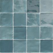 Carreaux De Terre Cuite Emaillee 10 X 10 Coloris Bleu Turquoise Carreaux De Mosaique De Verre Tuile Carrelage
