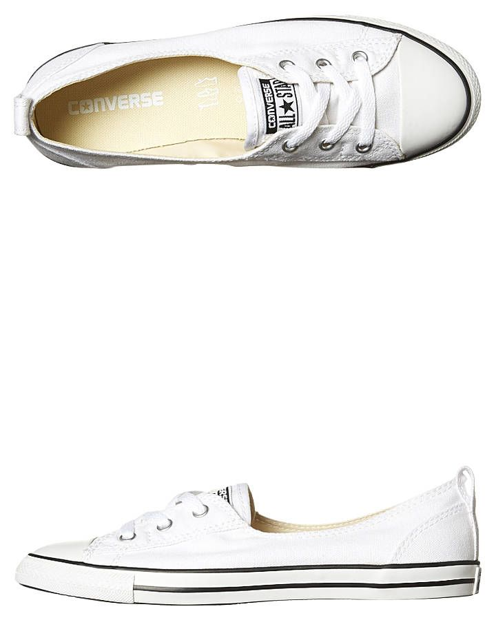 Converse Chuck Taylor All Star Ballet Lace Shoe White